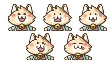 ネコキャラクター02